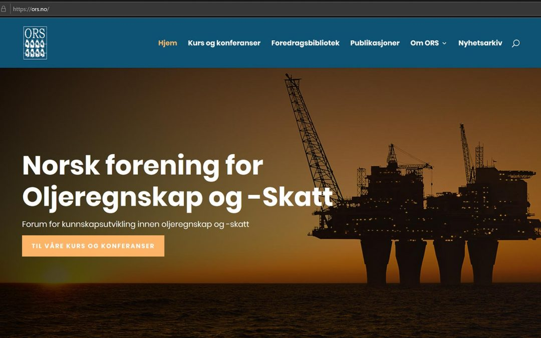 ORS lanserer nye nettsider