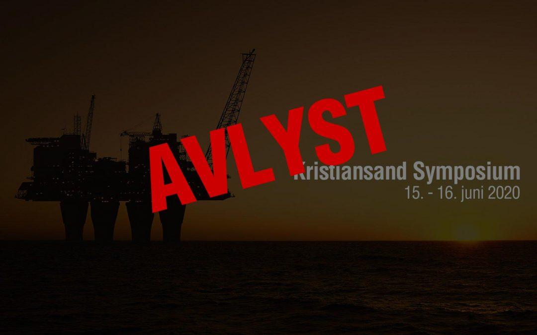 Kristiansand Symposium 2020 avlyses